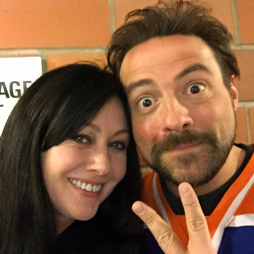 Kevin Smith and Shannen Doherty!
