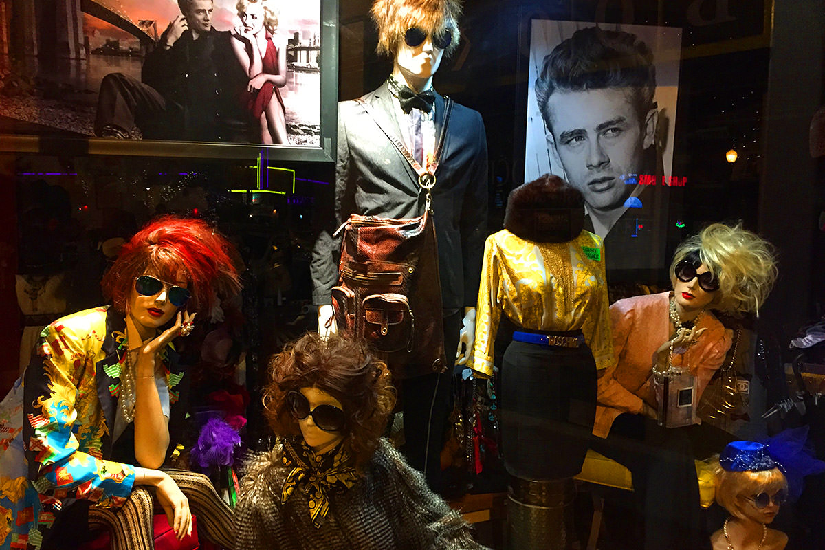 Hipster Chic Window Display San Diego