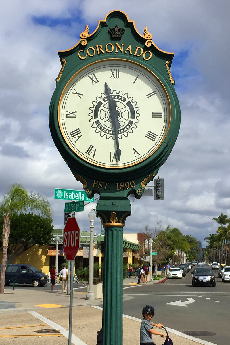 Coronado Clock
