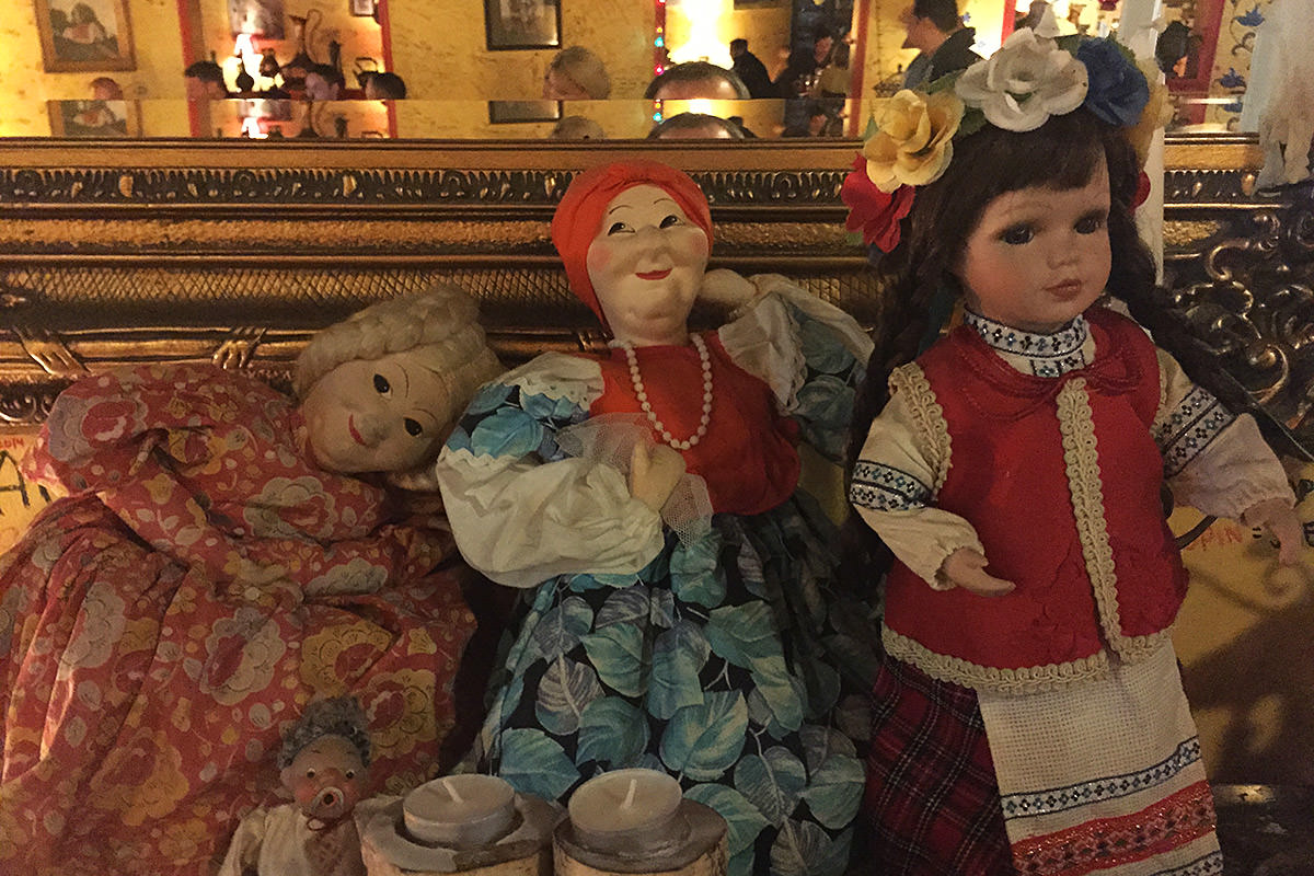 Pomegranate Russian Restaurant San Diego Dolls