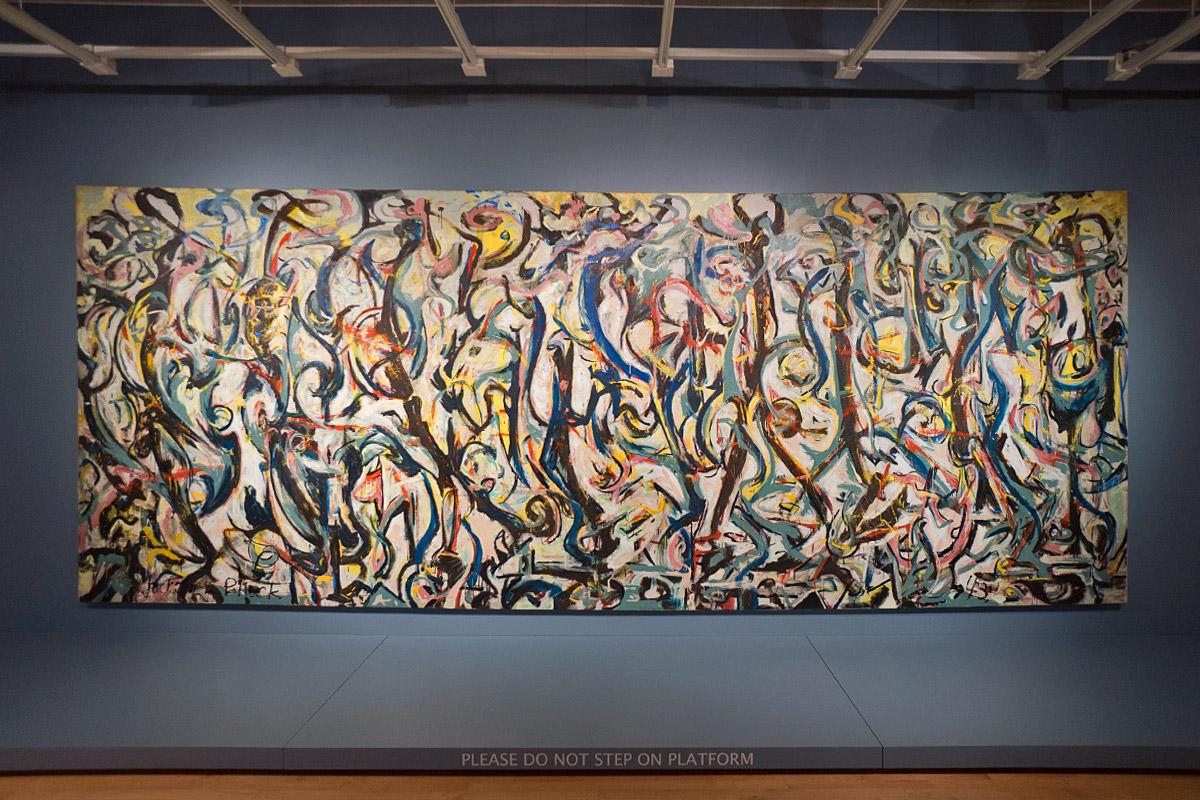 Sioux City Art Center Jackson Pollock