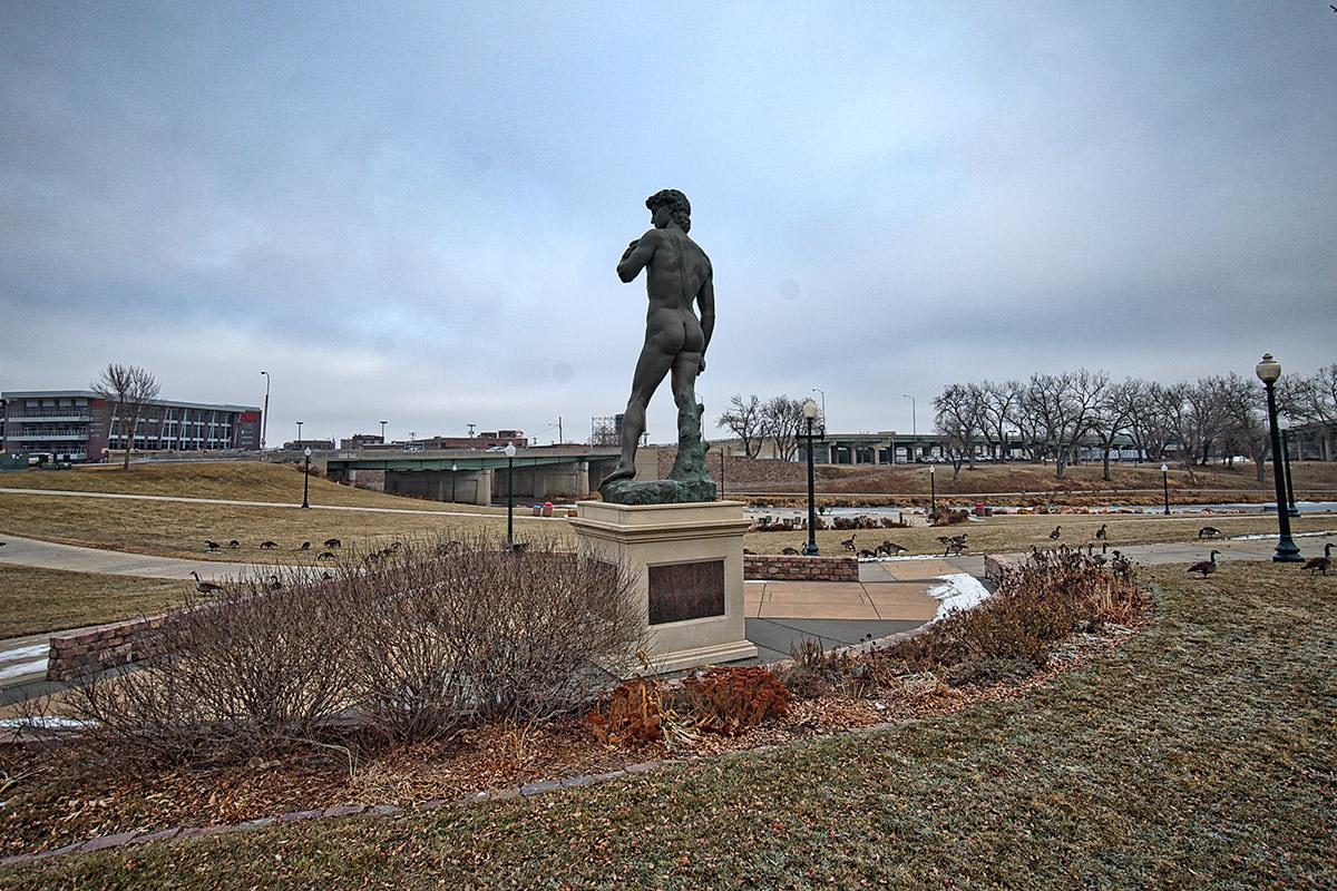 Sioux Falls David Replica
