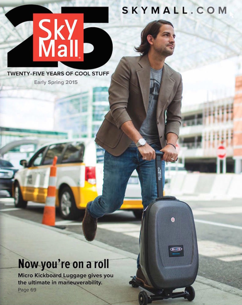 SkyMall Cover!