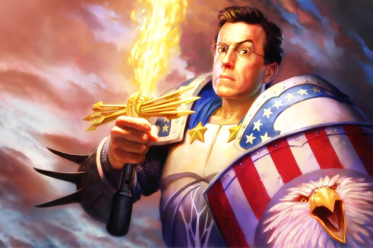 Stephen Colbert Defender of American Justice!