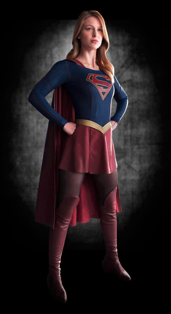 Supergirl Costume... REVEALED!