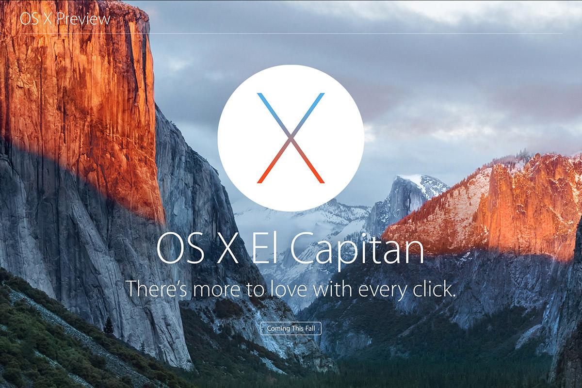 Mac OS X El Capitan Logo