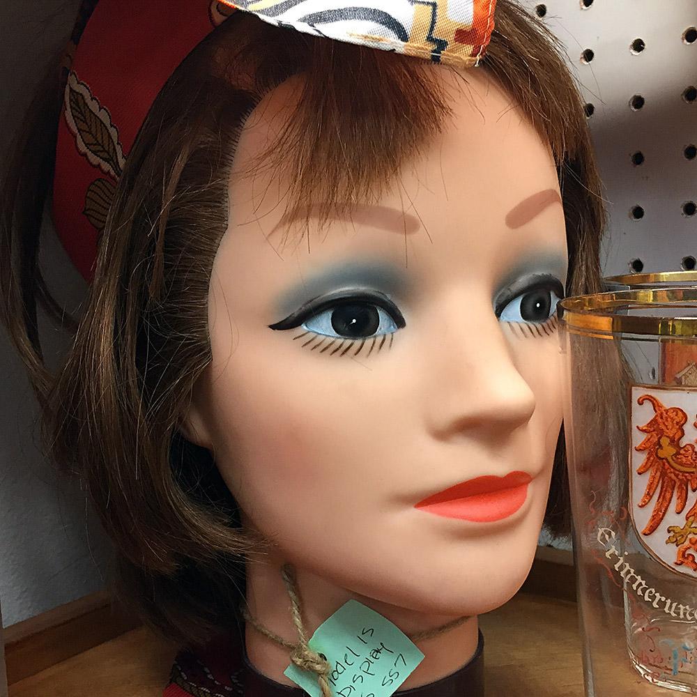 Creepy Head Mannequins