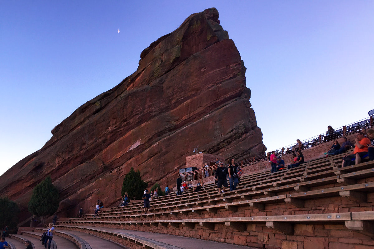 Red Rocks Amphitheater!