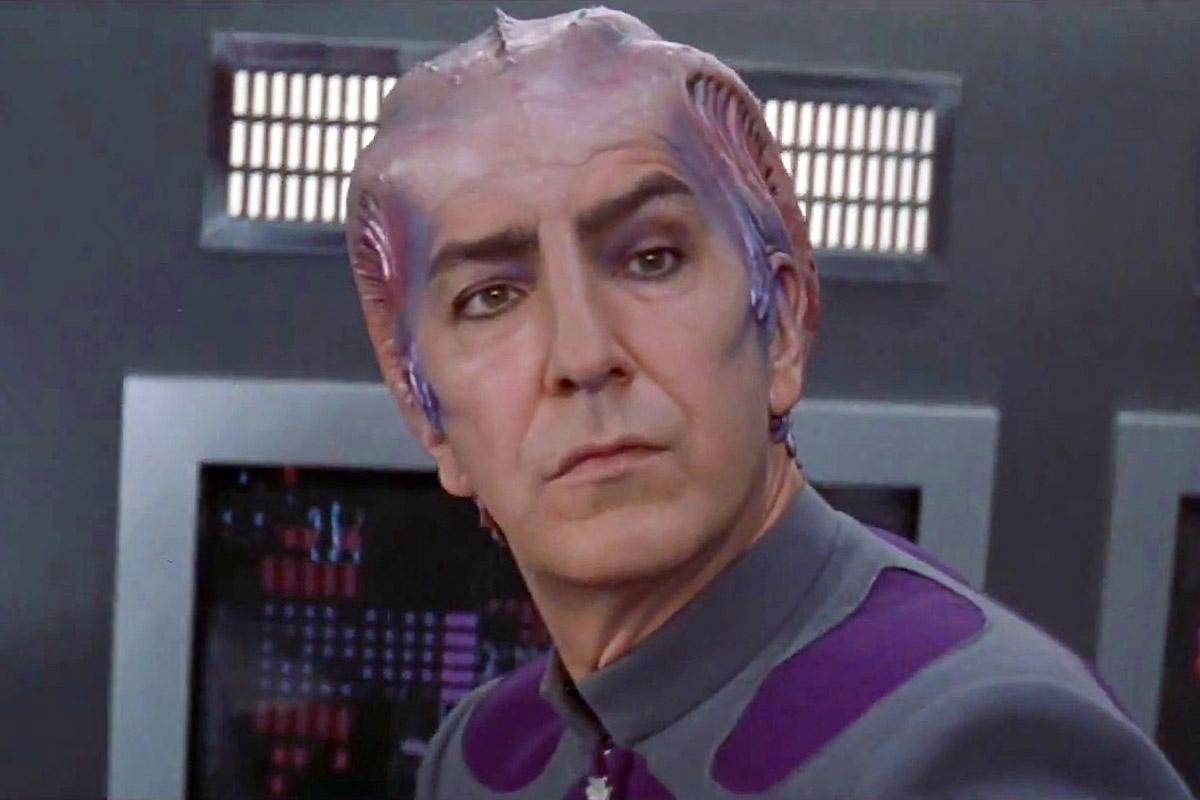 Alan Rickman in Galaxy Quest