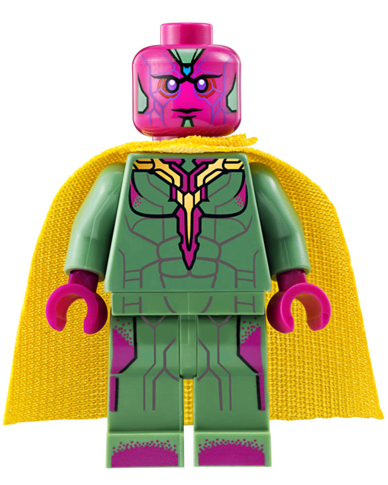 The Vision LEGO MiniFig