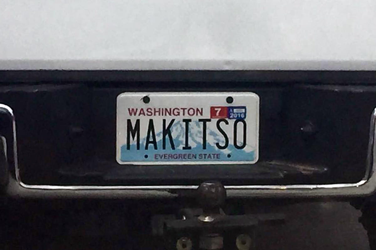 License Plate MAKEITSO!