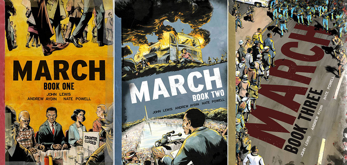 March Vol. 1-3 by John Lewis