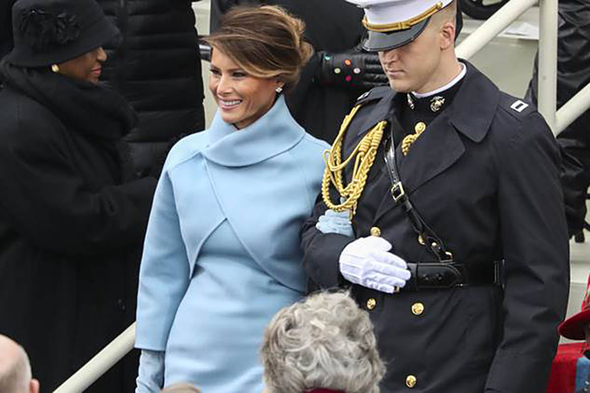 First Lady Melania!