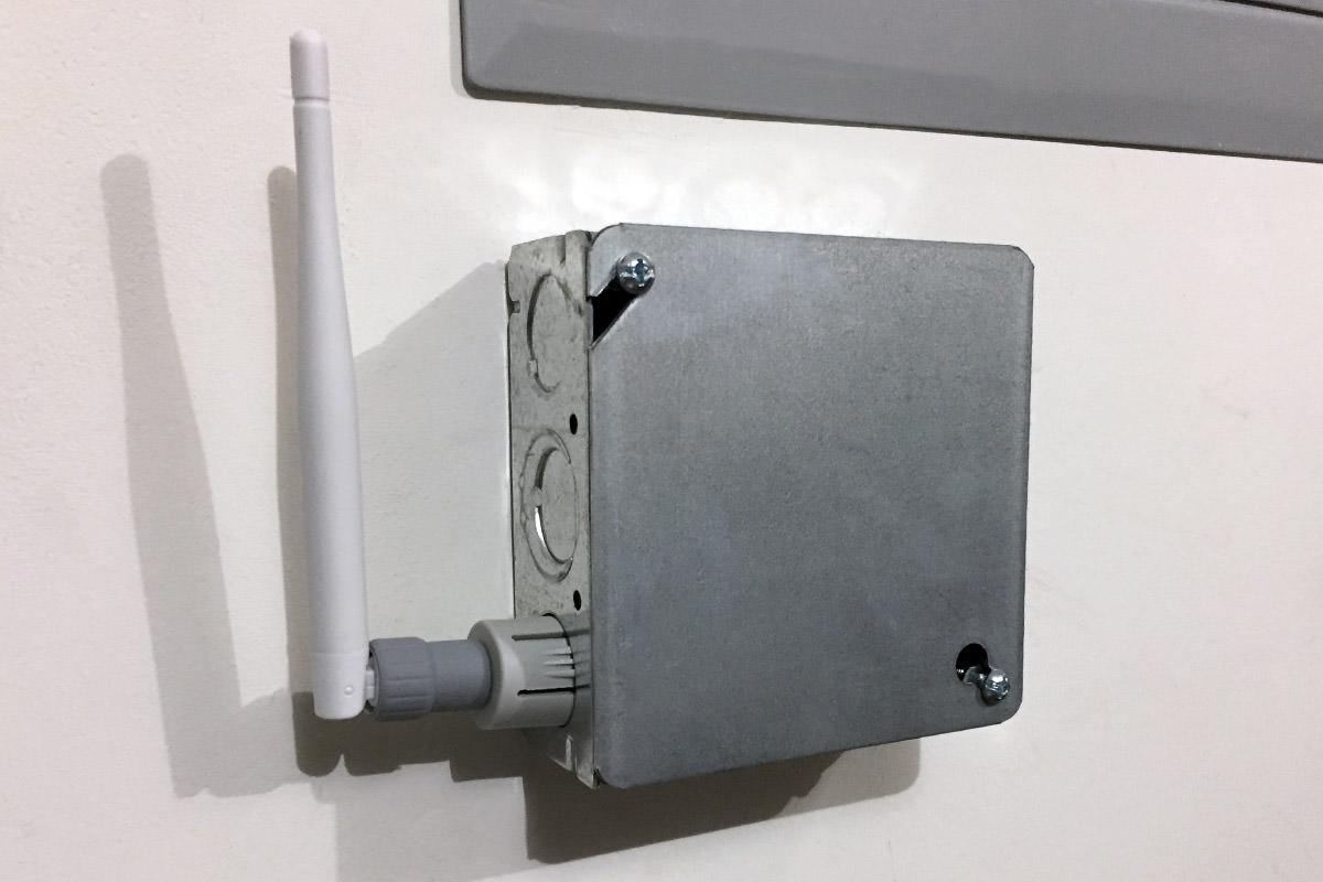 Sense Antennae Breakout Box.