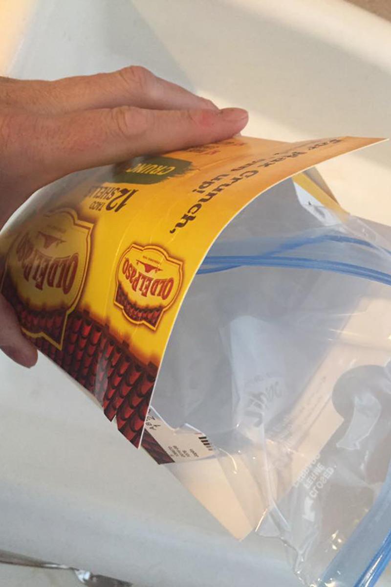 Empty Taco Shell Box!