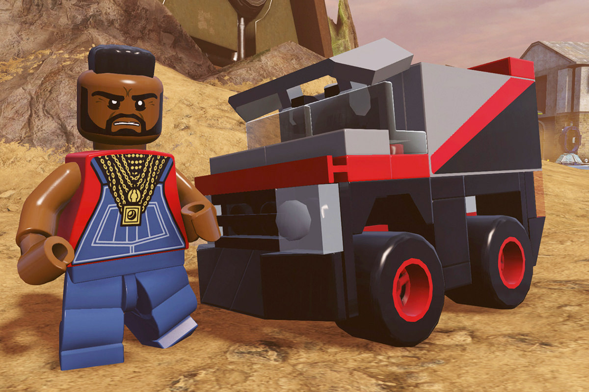 LEGO Dimensions A-Team!
