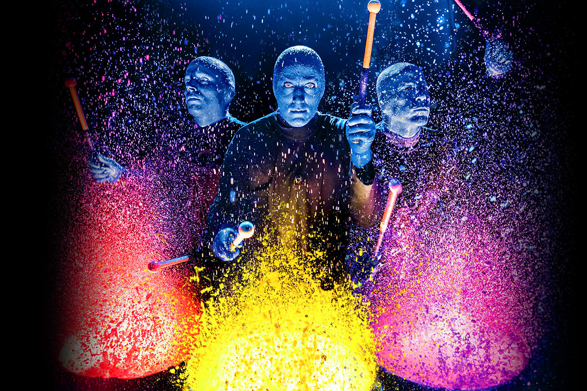 Blue Man Group Vegas!