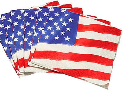 Flag Napkins