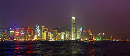 HK Harbor Night